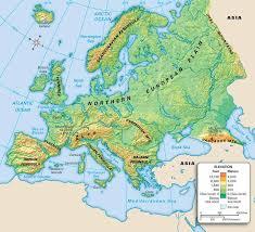 mountain ranges of europe europe map mountains thefreebiedepot