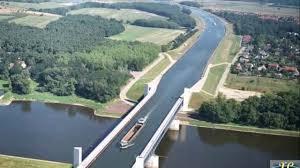 100 Water Bridge Germany The Stunning Magdeburg
