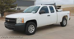 100 2007 Chevy Truck For Sale Chevrolet Silverado 1500 Ext Cab Pickup Truck Item D