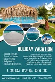 Vacation Travel Poster Template Click The Image To Customize On PosterMyWall