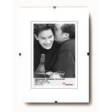 cadre photo sans bordure verre anti reflet