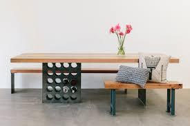 Wine Rack Dining Table Photo