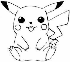 Pokemon Pikachu Coloring Pages Printable