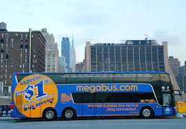 megabus com low cost tickets megabus in midtown manhattan editorial photography image of fare