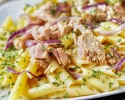 recette de salade de pâtes au thon spécial masse musculaire