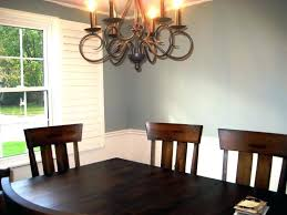 Two Tone Dining Rooms Paint Colors For Room With Chair Rail Part 2 Chairs