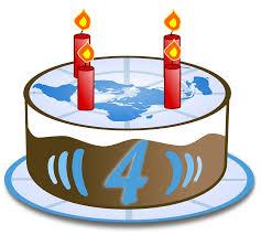 File WikiNews Logo de birthday cake 4g Wikimedia mons
