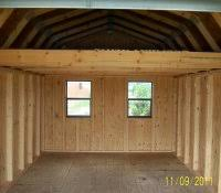 12x16 Gambrel Shed Kits by How To Build A 10x10 Shed Step By Firewood Storage Design Ideas
