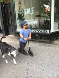 Tyrion Lannister Riding A Razor Walking Wolf NYC 7 14 15