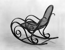 Gebrüder Thonet, Company Design. Rocking Chair. C. 1860   MoMA 1960s Rocking Chair In Red Plastic Strings On Black Metal Frame Wicker Grey At Home Details About Lawn Rocker Patio Fniture Garden Front Porch Outdoor Fleur Chairs Coffee Table Mesh Rare Salterini Radar Wrought Iron Scrollwork Design Decorative Deck Monceau Chair For Outdoor Living Space Staton Amazonin Kitchen Amazoncom Mygift Dark Brown Woven Metal Patio Rocking Chairs Carinsuncerateszipco Hampton Bay Wood