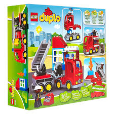 LEGO Duplo Town Fire Truck Toy Building Set Kit With Firefighter ... Lego Duplo 300 Pieces Lot Building Bricks Figures Fire Truck Bus Lego Duplo 10592 End 152017 515 Pm 6168 Station From Conradcom Shop For City 60110 Rolietas Town Buildable Toy 3yearolds Ebay Walmartcom Brickipedia Fandom Powered By Wikia My First Itructions 6138 Complete No Box Toys Review Video