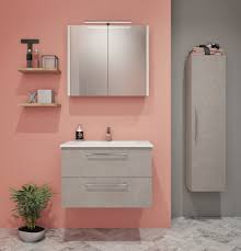 badezimmermöbel set b noida 3 teilig inkl waschtisch waschbecken farbe beige grau