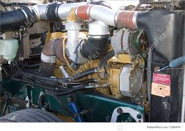 100 Semi Truck Engine Transport Diesel Compartment Stock Image I1260474 At