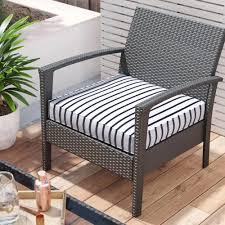 100 The Gripper Twill 2 Pc Rocking Chair Pad Set Mercury Row IndoorOutdoor Sunbrella Dining Cushion Wayfair