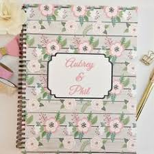 Personalized Wedding Planner Custom New Cover Options Bridal Planning Book