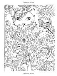 Adult Coloring Pages Cats Pictures In Gallery Cat For Adults