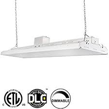 6 bulb l t8 led high bay warehouse shop commercial light
