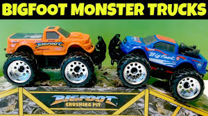 100 Bigfoot Monster Truck Toys BIGFOOT MONSTER TRUCKS YouTube