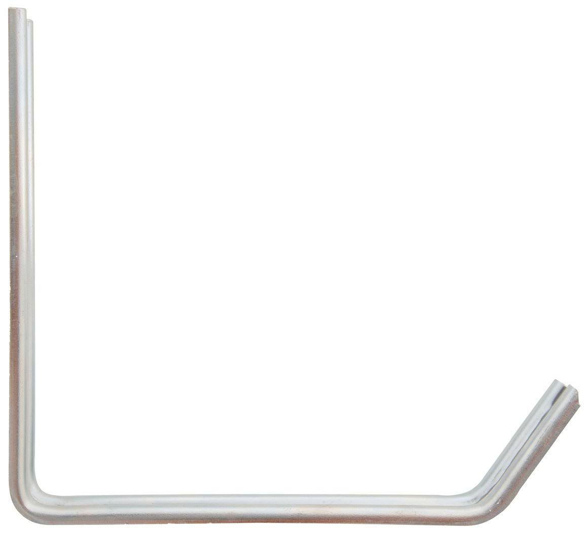 "The Hillman Group Small Storage Hook - 6""x7"", Zinc"