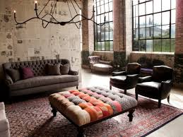 Industrial Chic Living Room Mltvfz