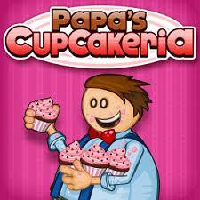 jeux de cuisine papa s papa s cupcakeria kizi is
