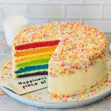 regenbogenkuchen einfach selbermachen