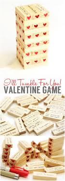 Valentines Day Hearty Tumble Game Another Fun Gift Idea For Your