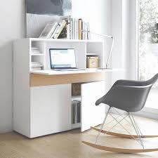 bureau teck massif meuble bureau secretaire design best of bureau bois design simple