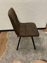 esszimmer stühle stuhl mikrofaser neu ohne esstisch