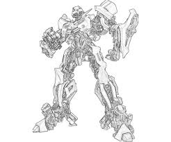 Bumblebee Coloring Pages Transformers