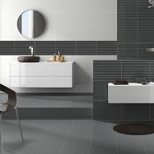 Bathroom Wall Tile Material by Marbella Grafito Relieve Wall Tile