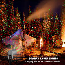 Amazon 2 Color Motion Laser Light Star Projector With Rf Design Of Christmas Tree Timer