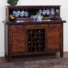 Dining Buffet Server Room Perfect Cabinet With Wine Rack Fresh
