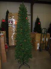 9 Ft Flocked Pencil Christmas Tree by Pencil Christmas Tree Ebay