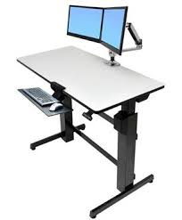 Lx Desk Mount Lcd Arm Manual by Ergotron Workfit D Sit Stand Desk An In Depth Review