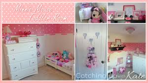 Beautiful Minnie Mouse Toddler Room For Bedroom Decor
