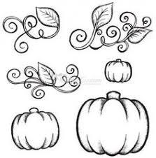 Pumpkin Vine Coloring Pages Sketch Coloring Page