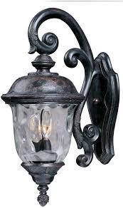 maxim lighting 3497wgob carriage house dc 3 light top mount