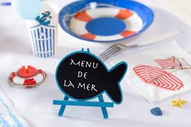 décoration sur le thème marin bord de mer articles de fête