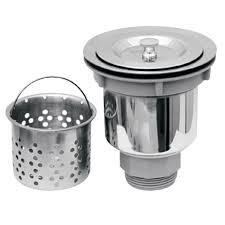 Kohler Sink Strainer Basket by Kitchen Sinks Vessel Sink Basket Strainer Triple Bowl U Shaped