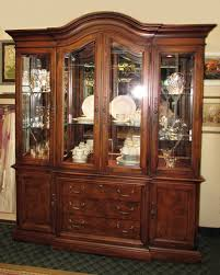 china cabinet lighted china cabinet high end used furniture