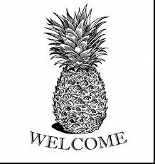 Incredible Decoration Pineapple Coloring Page Outstanding Preschool Summer Pages With