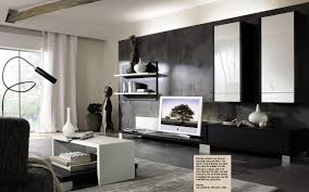 endearing picture of black white grey living room decoration using