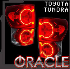 2007 2010 toyota tundra led light halo kit by oracle nfc