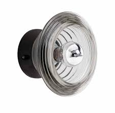 contemporary wall light glass led bowl gls01 weum2