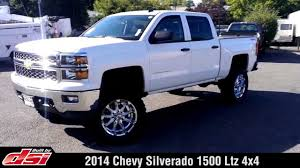 100 Chevy Truck 2014 Silverado 1500 LTZ 4x4 Lifted By DSI YouTube