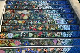 16th Avenue Tiled Steps In San Francisco by Tilted Steps Picture Of 16 Avenue Tiled Steps San Francisco
