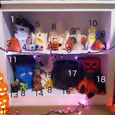 Snickers Halloween Commercial Pumpkin by D I Treasures Nerd Cave Tours Halloween Mood Table Ghost Shelves