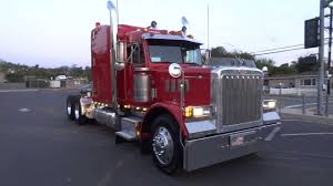 1997 Peterbilt 379 Optimus Prime Transformer Semi Truck Hauler ...