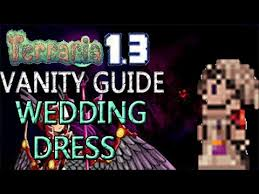 Terraria Chair And Table by Terraria 1 3 Vanity Guide Wedding Dress The Bride Youtube